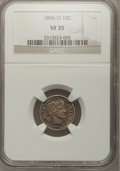 Barber Dimes: , 1896-O 10C VF35 NGC. NGC Census: (3/39). PCGS Population (4/63). Mintage: 610,000. Numismedia Wsl. Price for problem free N...