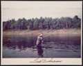 "Baseball Collectibles:Photos, Ted Williams Signed ""Fishing"" Original Photograph...."