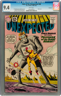 Tales of the Unexpected #68 Savannah pedigree (DC, 1962) CGC NM 9.4 White pages