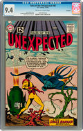 Silver Age (1956-1969):Science Fiction, Tales of the Unexpected #69 Savannah pedigree (DC, 1962) CGC NM 9.4Off-white to white pages....