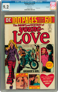Bronze Age (1970-1979):Romance, Young Love #110 Savannah pedigree (DC, 1974) CGC NM- 9.2 Whitepages....