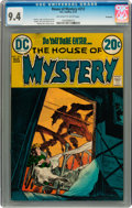 Bronze Age (1970-1979):Horror, House of Mystery #212 Savannah pedigree (DC, 1973) CGC NM 9.4Off-white to white pages....