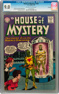 Silver Age (1956-1969):Science Fiction, House of Mystery #106 Savannah pedigree (DC, 1961) CGC VF/NM 9.0Off-white to white pages....