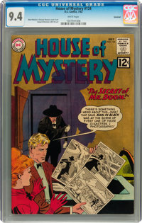 House of Mystery #124 Savannah pedigree (DC, 1962) CGC NM 9.4 White pages