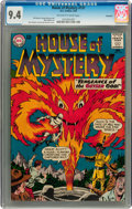 Silver Age (1956-1969):Horror, House of Mystery #131 Savannah pedigree (DC, 1963) CGC NM 9.4Off-white to white pages....