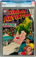 Silver Age (1956-1969):Science Fiction, Strange Adventures #168 Savannah pedigree (DC, 1964) CGC NM+ 9.6Off-white to white pages....