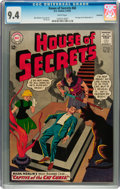 Silver Age (1956-1969):Mystery, House of Secrets #60 Savannah pedigree (DC, 1963) CGC NM 9.4 Whitepages....