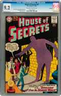 Silver Age (1956-1969):Mystery, House of Secrets #57 Savannah pedigree (DC, 1962) CGC NM- 9.2Off-white to white pages....