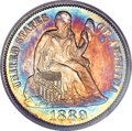 Proof Seated Dimes, 1889 10C PR66 Cameo PCGS....