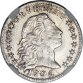 Early Half Dimes, 1795 H10C MS63 NGC. V-5, LM-8, R.3....
