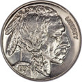 Proof Buffalo Nickels, 1936 5C Type Two--Brilliant Finish PR66 NGC. CAC....