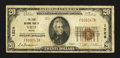 National Bank Notes:Maine, Saco, ME - $20 1929 Ty. 1 The York NB Ch. # 1528. ...