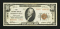 National Bank Notes:Pennsylvania, Harrisville, PA - $10 1929 Ty. 2 First NB Ch. # 13812. ...