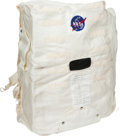 Transportation:Space Exploration, NASA High Fidelity Contracted Model Beta Cloth Portable LifeSupport System Cover. ...