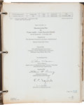 "Transportation:Space Exploration, Grumman 1963 ""Manufacturing Plan for Project Apollo - LunarExcursion Module LPL-850-1A"" in Original Binder...."