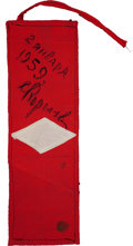 Transportation:Space Exploration, Luna 1 Armband Signed by Sergei Korolev. ...