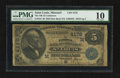 National Bank Notes:Missouri, Saint Louis, MO - $5 1882 Date Back Fr. 534 The NB of Commerce Ch. # (M)4178. ...