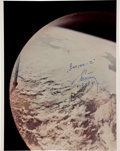Transportation:Space Exploration, First Color Photograph Taken in Space....