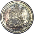 Proof Seated Dimes, 1863 10C PR66 PCGS. CAC. Fortin-101....