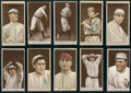 Baseball Cards:Lots, 1912 T207 Recruit Brown Background Collection (10 Different). ...