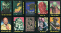 Non-Sport Cards:Sets, 1964 Topps (Bubbles Inc.) Outer Limits Complete Set (50). ...