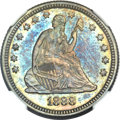 Seated Quarters, 1888 25C MS66 NGC....