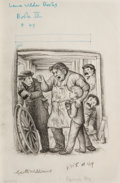 Mainstream Illustration, GARTH WILLIAMS (American, 1912-1996). Farmer Boy, (The LittleHouse series), You Measly Skinflint!, page 355 illustration...