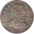 Bust Dimes, 1821 10C Small Date MS64 PCGS. JR-8, R.2....