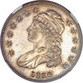 Proof Bust Half Dollars, 1836 50C Lettered Edge PR63 NGC. O-101, R.1, likely Low R.7 as aproof. ...