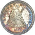 Proof Seated Quarters, 1865 25C PR66 PCGS....