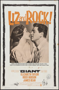 "Giant (Warner Brothers, R-1963). One Sheet (27"" X 41""). Drama"