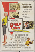 """Movie Posters:Bad Girl, Girls Town (MGM, 1959). One Sheet (27"""" X 41""""). Bad Girl.. ..."""