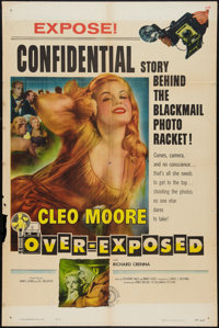 """Over-Exposed (Columbia, 1956). One Sheet (27"""" X 41""""). Bad Girl"""
