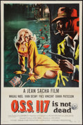 """Movie Posters:Crime, O.S.S. 117 Is Not Dead (Republic, 1959). One Sheet (27"""" X 41"""").Crime.. ..."""
