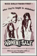 "Movie Posters:Sexploitation, Women for Sale (Independent International Pictures, 1975). OneSheet (27"" X 41""). Sexploitation.. ..."