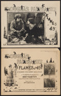 """Movie Posters:Western, The Half-Breed (Enterprise Distributing, R-1920s). Title Lobby Card and Scene Card (11"""" X 14""""). Western. Reissued as Flame... (Total: 2 Items)"""