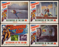 """Movie Posters:Serial, Commando Cody (Republic, 1953). Lobby Card Set of 4 (11"""" X 14"""") Chapter Six -- """"Destroyers of the Sun."""" Serial.. ... (Total: 4 Items)"""