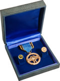 Transportation:Space Exploration, NASA Exceptional Service Medal with Presentation Certificate. ...