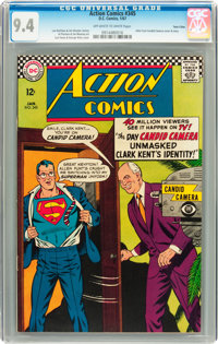 Action Comics #345 Twin Cities pedigree (DC, 1967) CGC NM 9.4 Off-white to white pages
