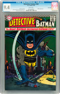 Silver Age (1956-1969):Superhero, Detective Comics #362 Twin Cities pedigree (DC, 1967) CGC NM 9.4 White pages....