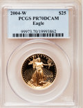 Modern Bullion Coins, 2004-W $25 Half-Ounce Gold Eagle PR70 Deep Cameo PCGS. PCGSPopulation (131). NGC Census: (623). Numismedia Wsl. Price for...