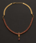 Estate Jewelry:Necklaces, Spectacular 22k Gold & Ruby Necklace. ...