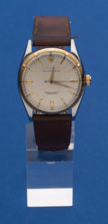 Timepieces:Wristwatch, Rolex Steel & Gold Oyster Reference 6565 Wristwatch. ...