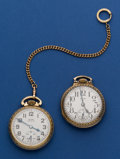 Timepieces:Pocket (post 1900), Two - Elgin 16 Size Pocket Watches Runners. ... (Total: 2 Items)