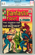 Silver Age (1956-1969):Superhero, Fantastic Four #27 Twin Cities pedigree (Marvel, 1964) CGC VF+ 8.5 Off-white to white pages....
