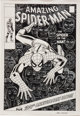 John Romita Sr. The Amazing Spider-Man #100 Cover Re-Creation Original Art (1994)