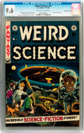Golden Age (1938-1955):Science Fiction, Weird Science #16 Gaines File pedigree 6/11 (EC, 1952) CGC NM+ 9.6Off-white to white pages....