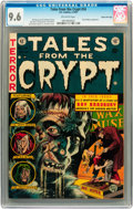 Golden Age (1938-1955):Horror, Tales From the Crypt #34 Gaines File pedigree 6/12 (EC, 1953) CGCNM+ 9.6 Off-white pages....