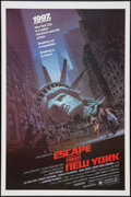 "Movie Posters:Science Fiction, Escape from New York (Avco Embassy, 1981). One Sheet (27"" X 41"").Science Fiction.. ..."