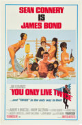 """Movie Posters:James Bond, You Only Live Twice (United Artists, 1967). One Sheet (27"""" X 41"""")Style C.. ..."""